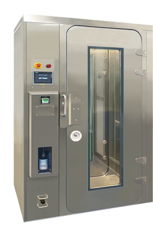 Decontamination Chamber Integrated MD-Ci