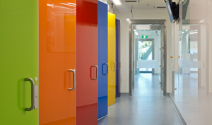 The glass door set from PBSC with its toughened glass door leaf within the clean lines of the stainless-steel frame gives a show piece appearance to any facility whilst providing outstanding functionality.